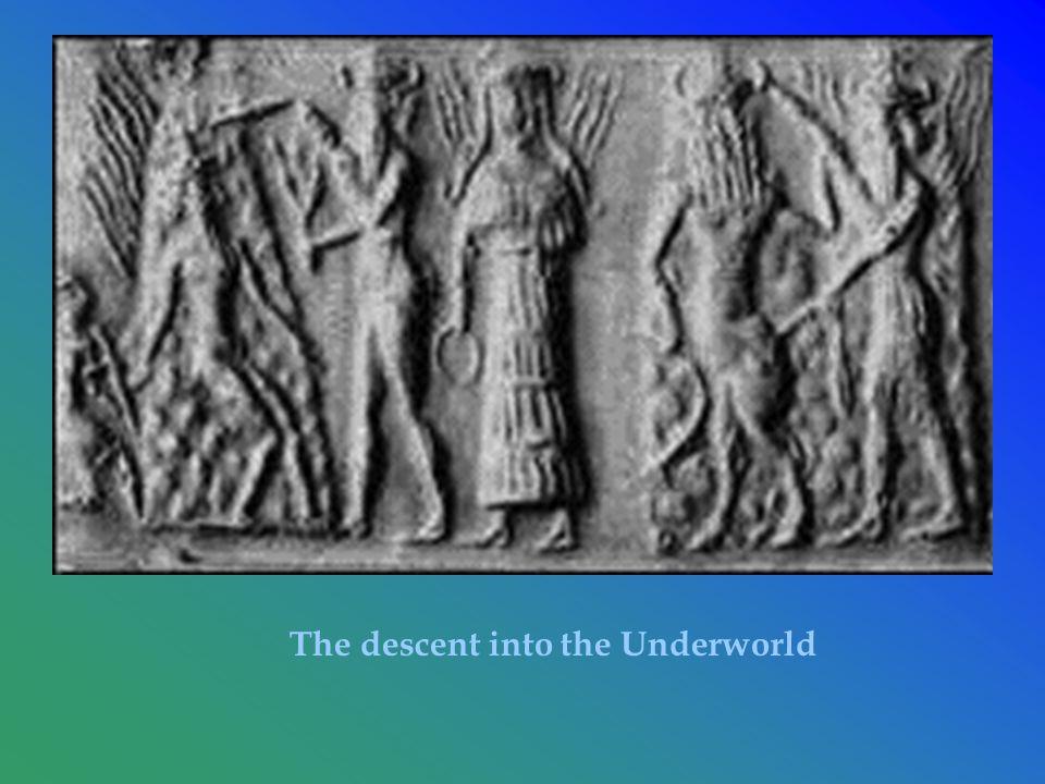 The descent into the Underworld