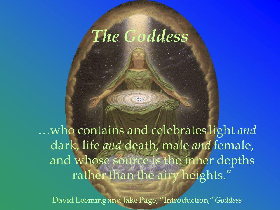 David Leeming and Jake Page, Introduction, Goddess