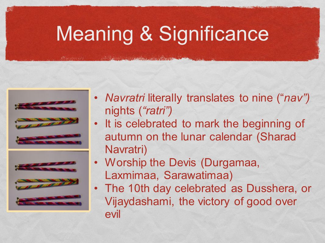 Meaning & Significance