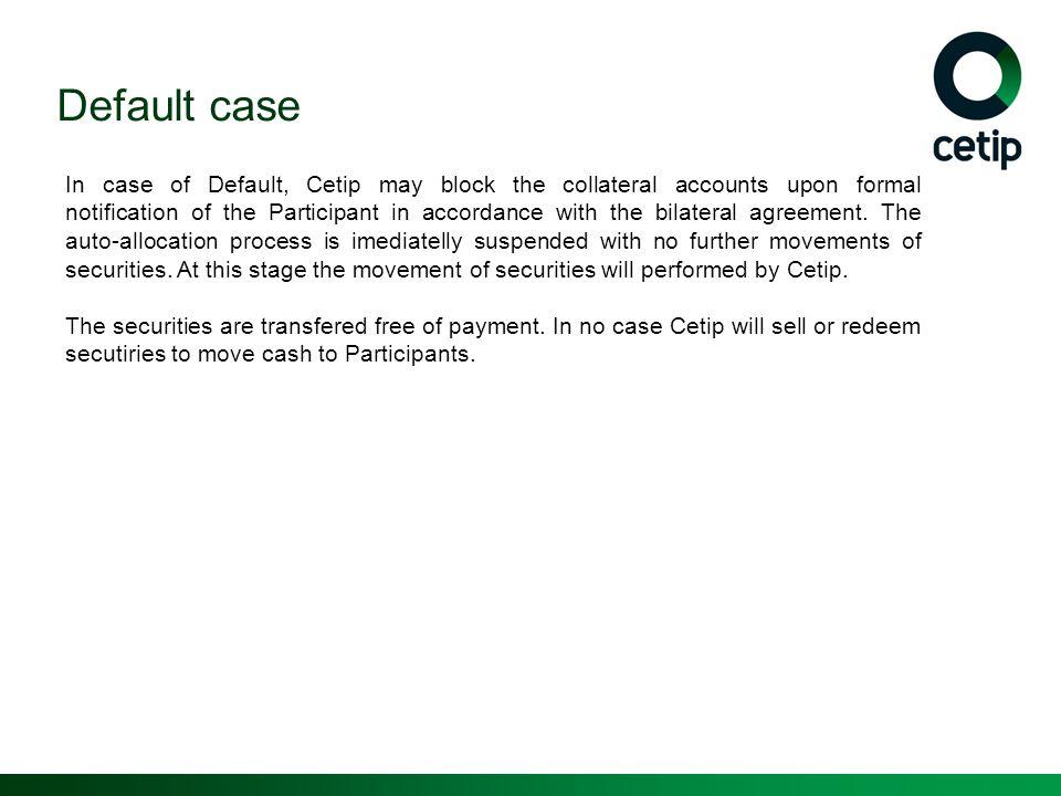 Default case