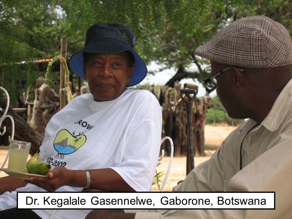Dr. Kegalale Gasennelwe, Gaborone, Botswana