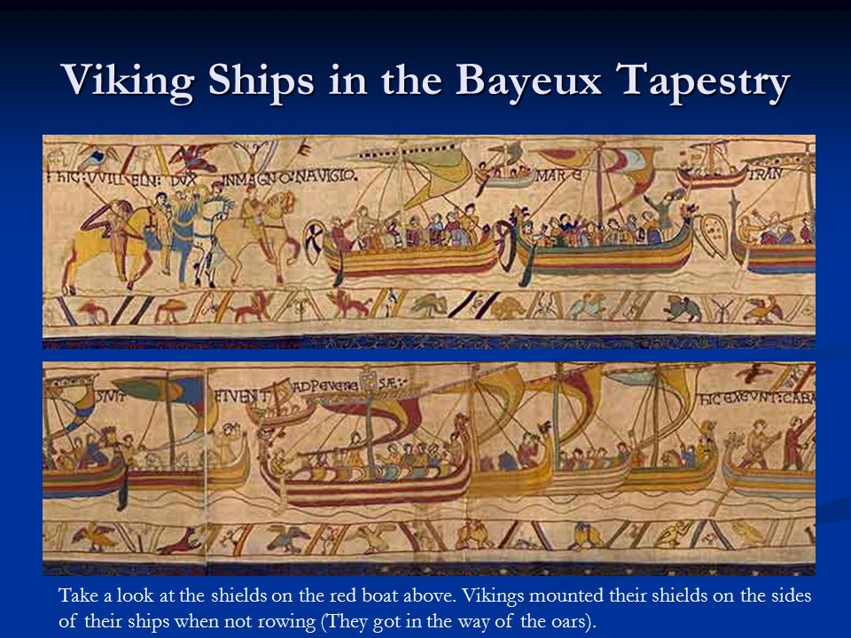 Viking Ships in the Bayeux Tapestry