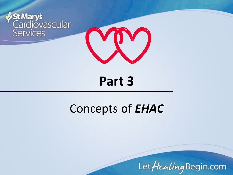 Part 3 Concepts of EHAC