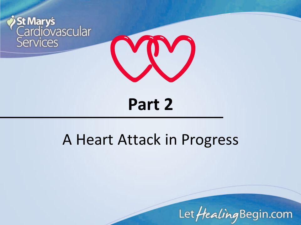 A Heart Attack in Progress