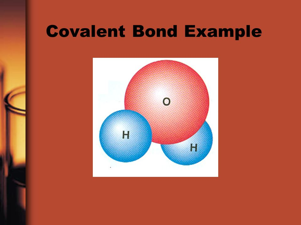 Covalent Bond Example