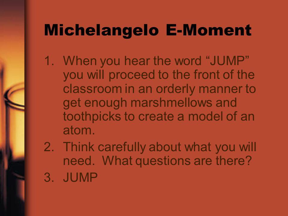 Michelangelo E-Moment