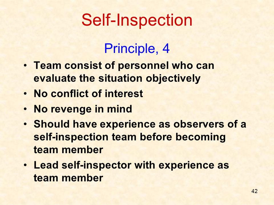 Self-Inspection Principle, 4