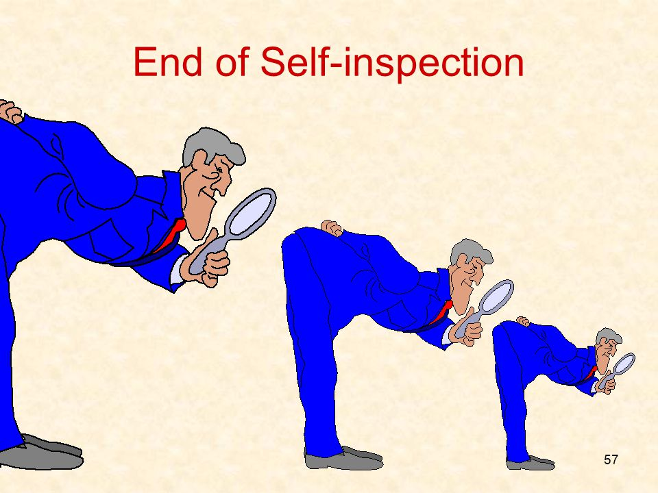 End of Self-inspection