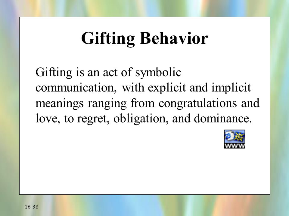 Gifting Behavior