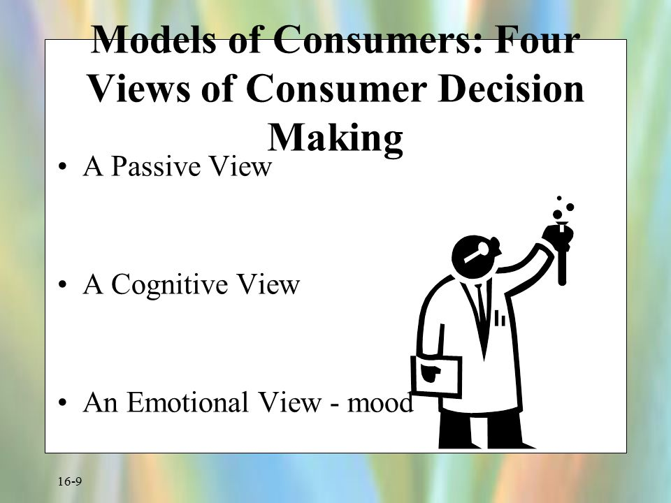 Models of Consumers: Four Views of Consumer Decision Making
