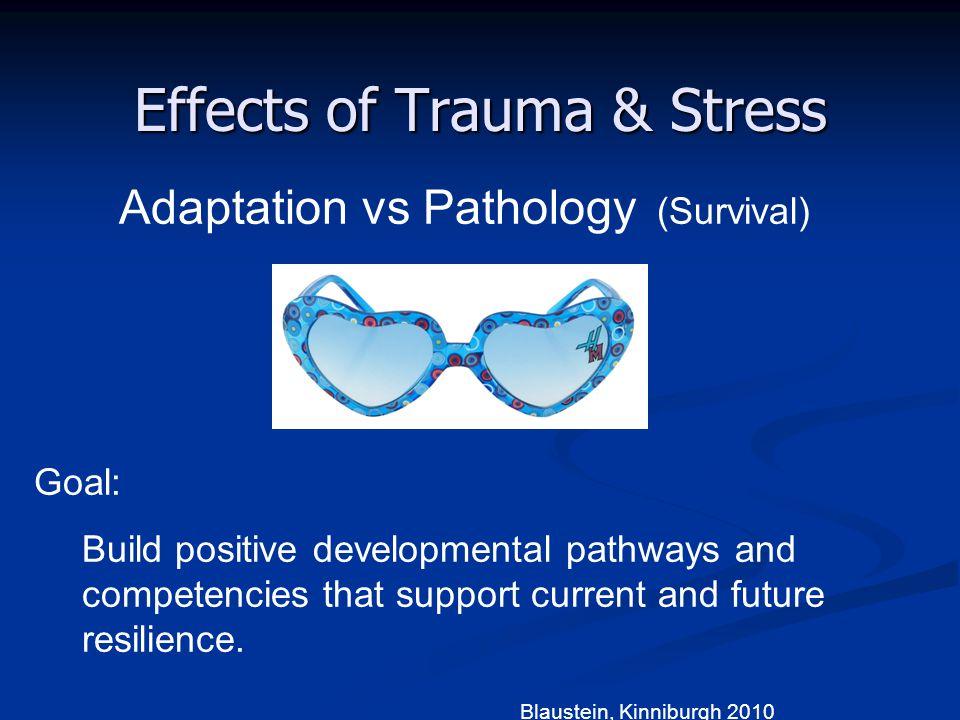Effects of Trauma & Stress