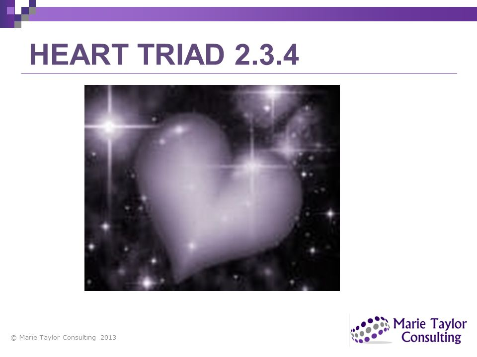 HEART TRIAD 2.3.4 copyright Marie Taylor