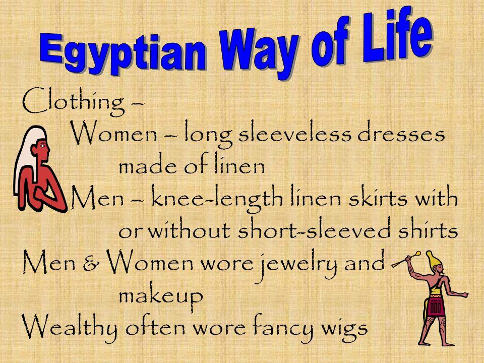Women – long sleeveless dresses made of linen