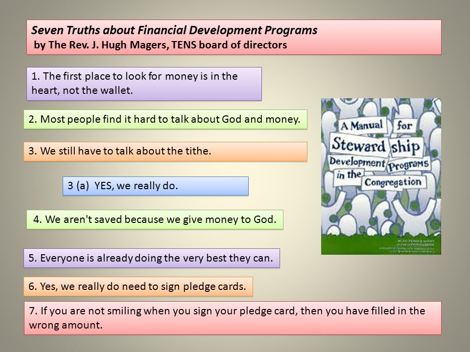 Seven Truths about Financial Development Programs
