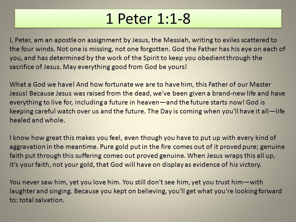 1 Peter 1:1-8
