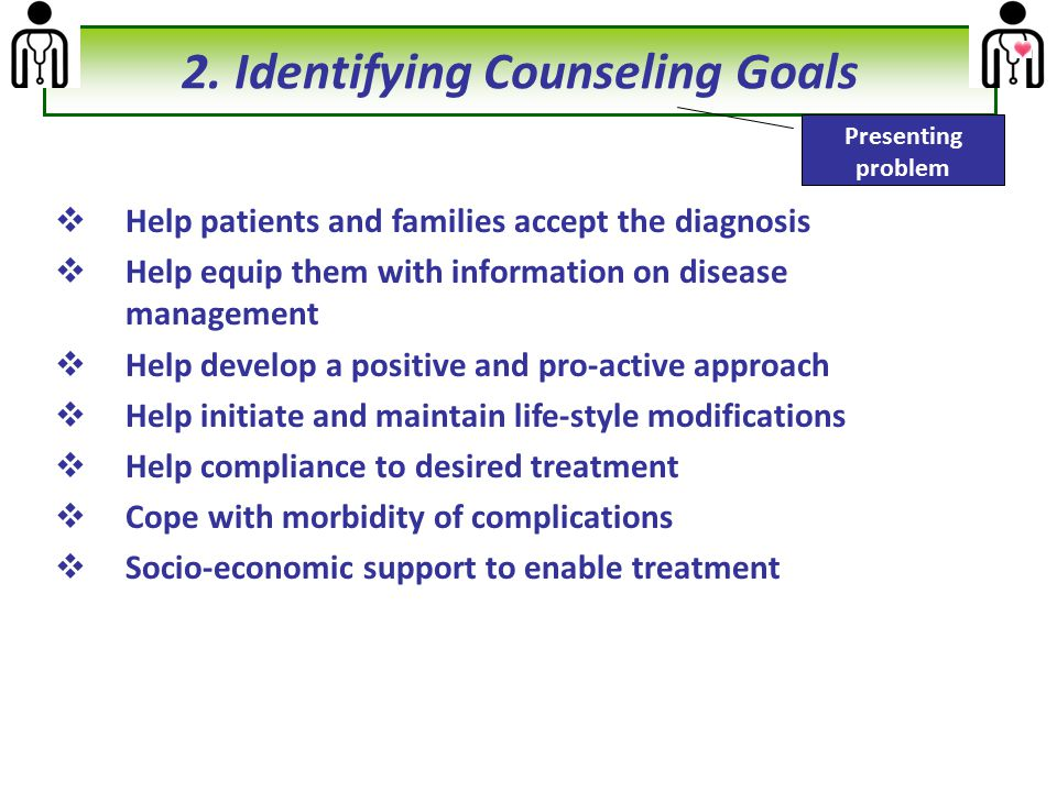 2. Identifying Counseling Goals