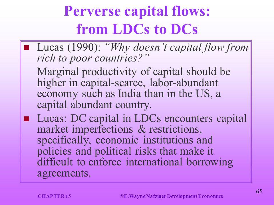 Perverse capital flows: from LDCs to DCs