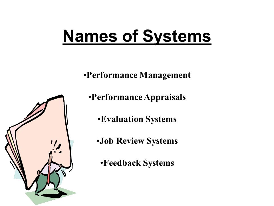 Performance Management Performance Appraisals