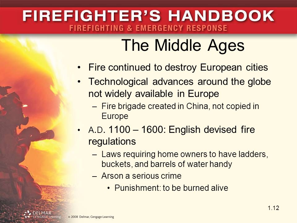 The Middle Ages Fire continued to destroy European cities