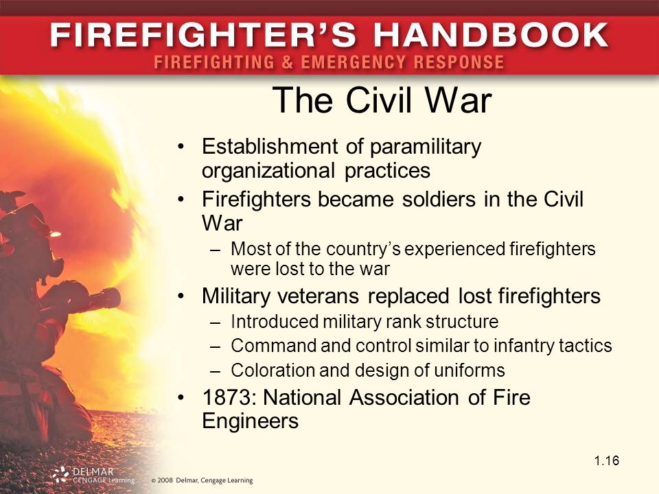 The Civil War Establishment of paramilitary organizational practices
