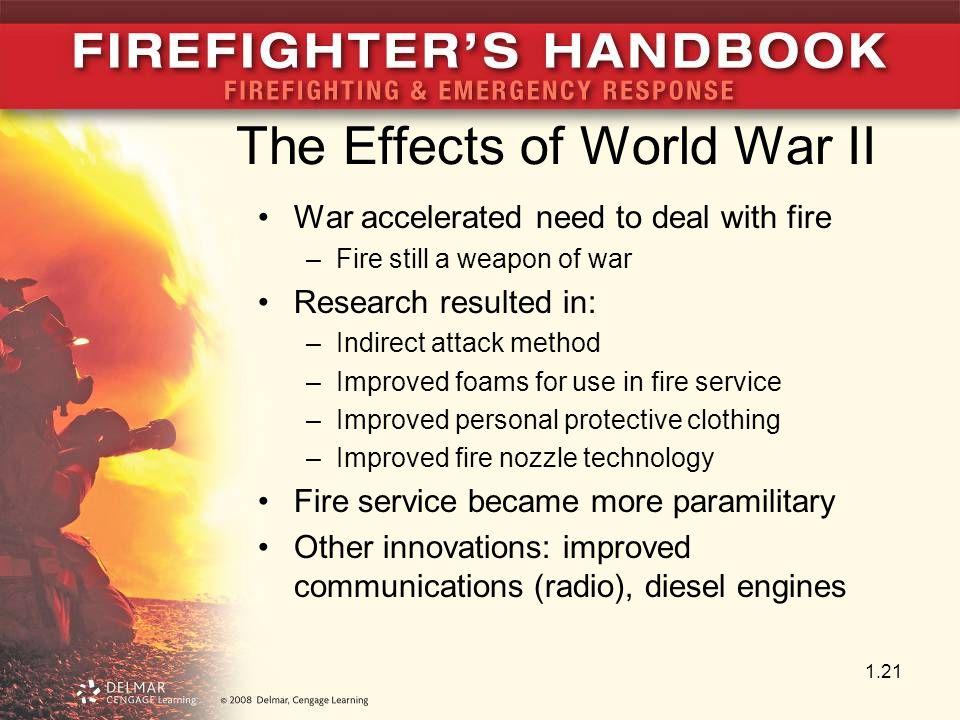 The Effects of World War II