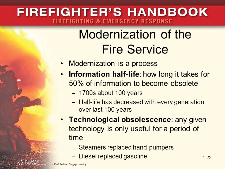Modernization of the Fire Service