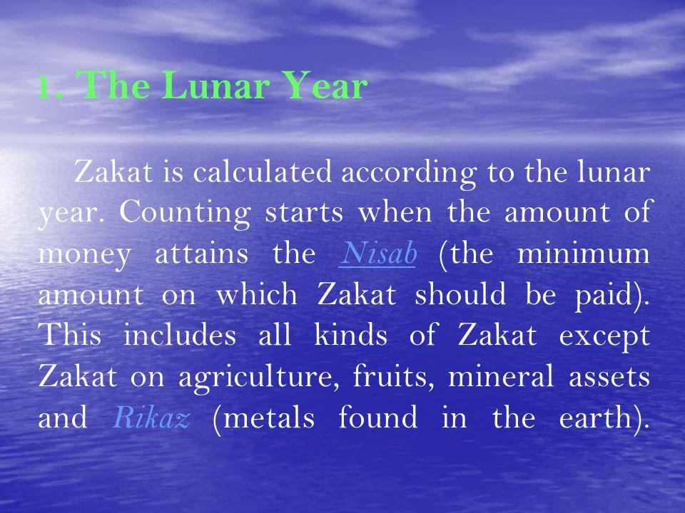 1. The Lunar Year