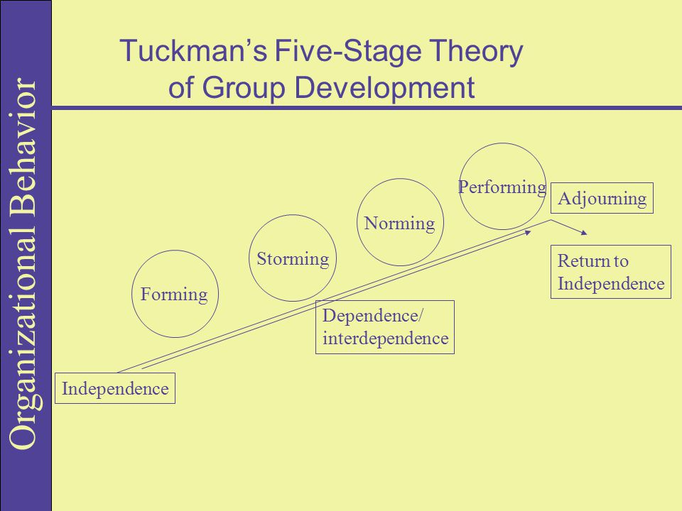 Tuckman's Five-Stage Theory of Group Development