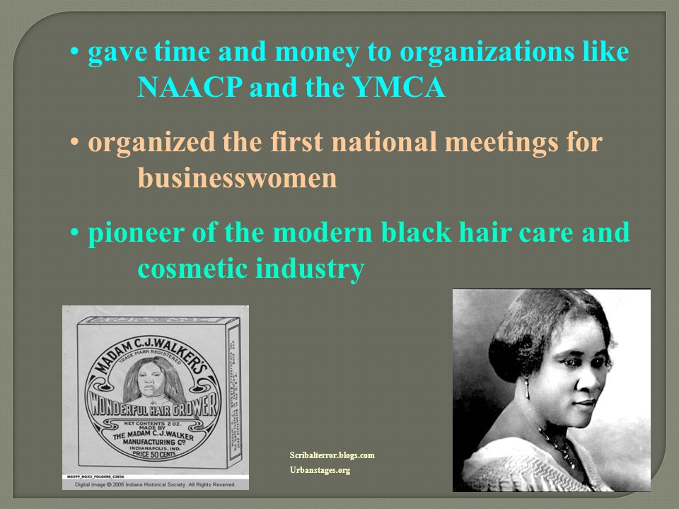 gave time and money to organizations like NAACP and the YMCA
