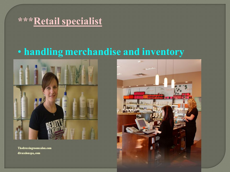 handling merchandise and inventory