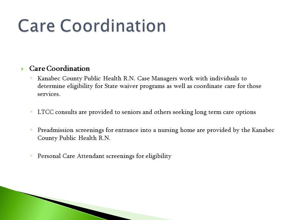 Care Coordination Care Coordination