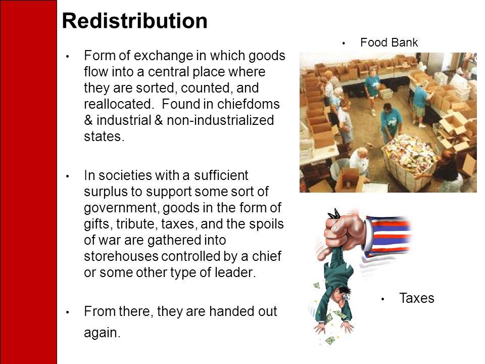 Redistribution Food Bank.