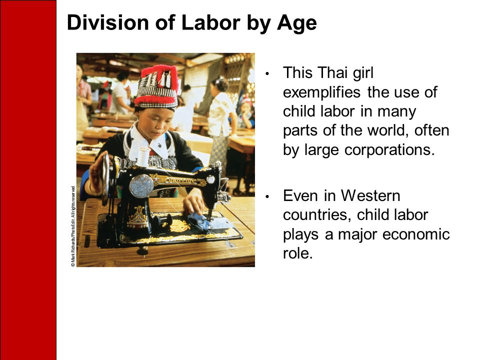 Division of Labor by Age