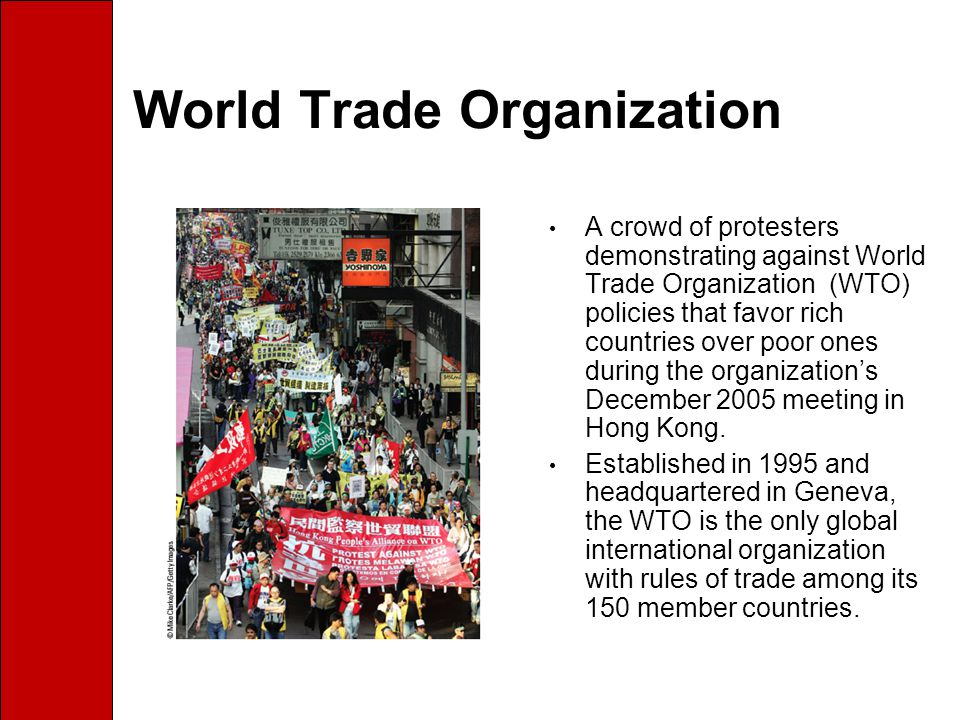 World Trade Organization History