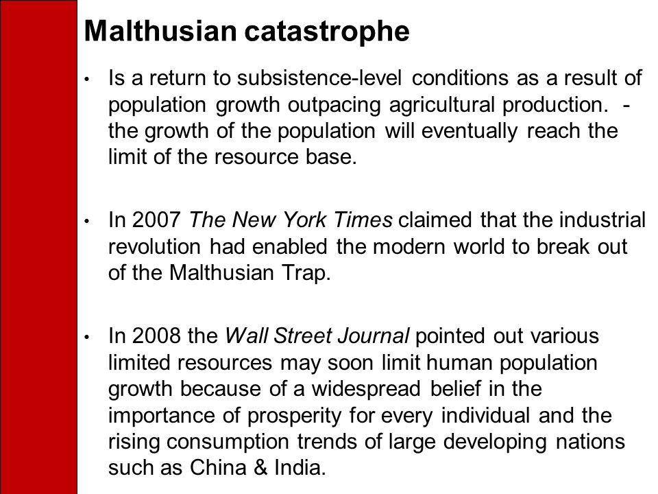 Malthusian catastrophe