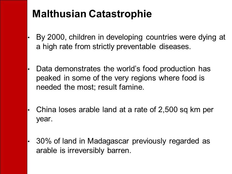 Malthusian Catastrophie