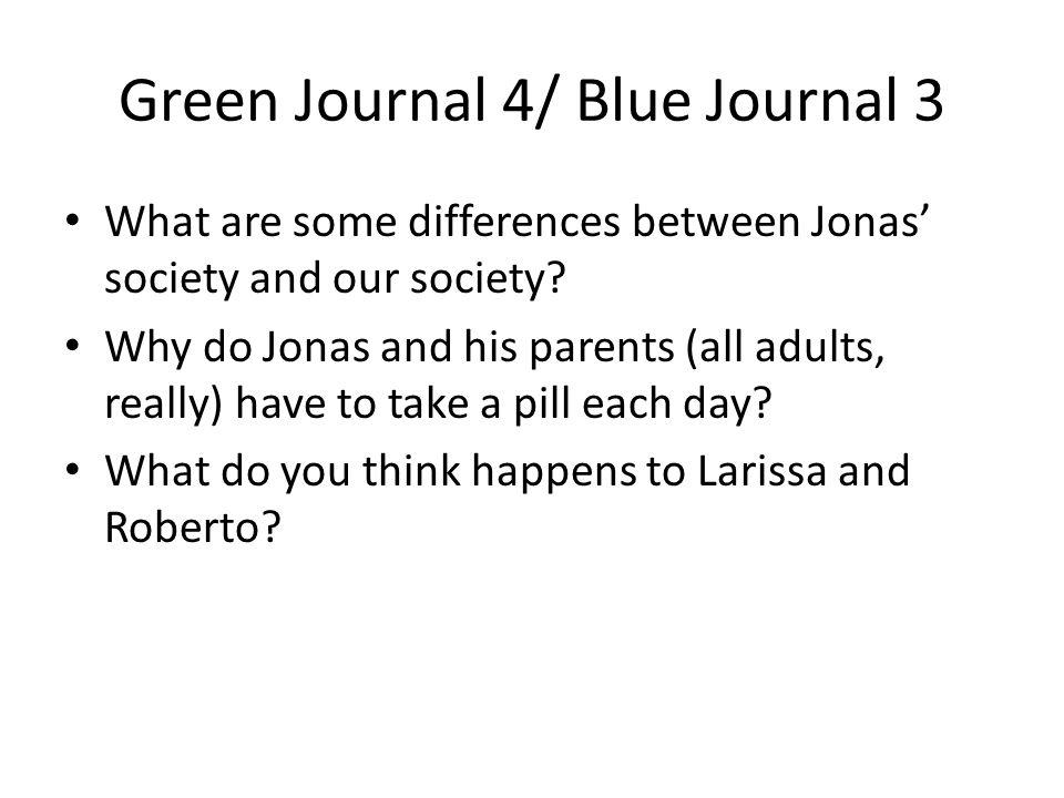 Green Journal 4/ Blue Journal 3