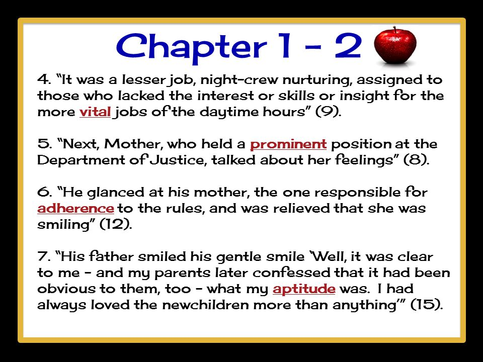 Chapter 1 - 2