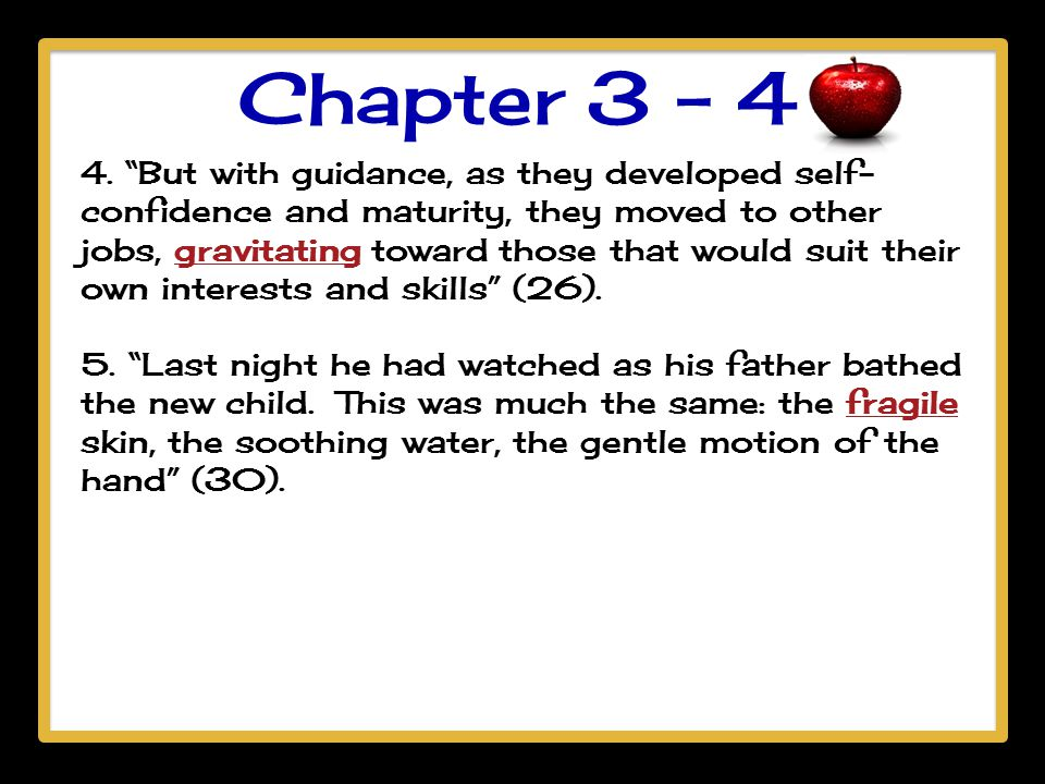 Chapter 3 - 4