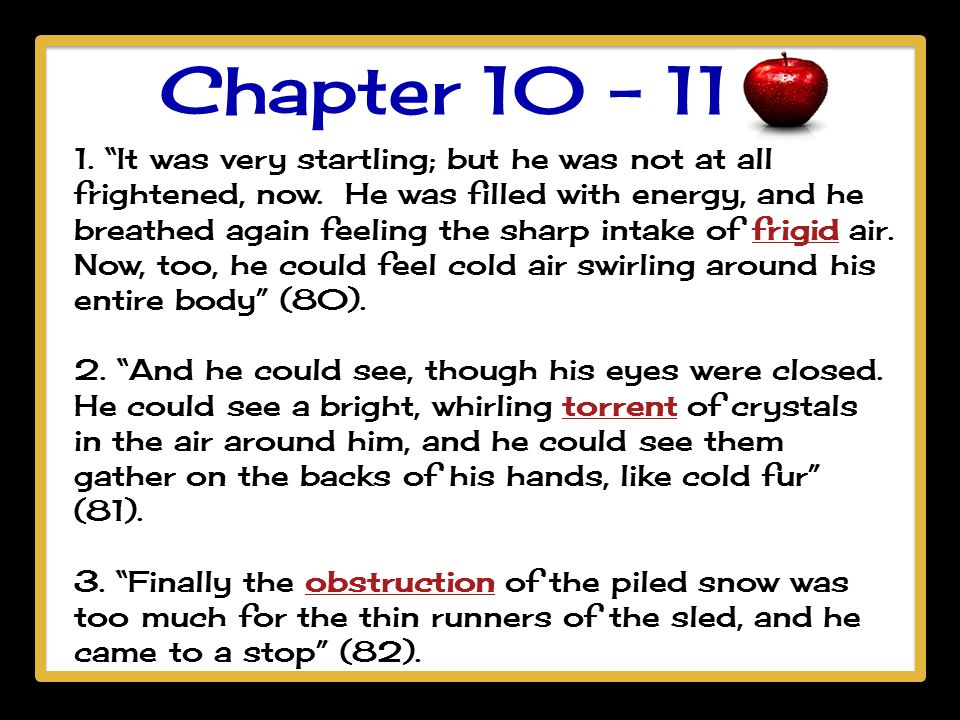 Chapter 10 - 11