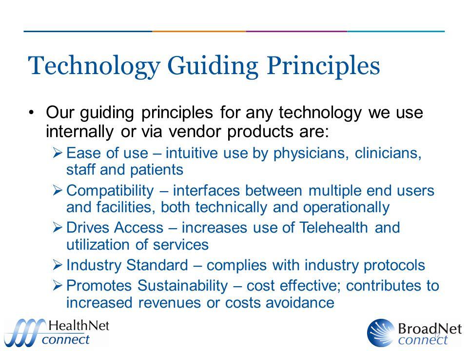 Technology Guiding Principles