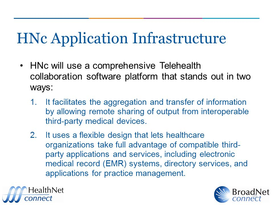HNc Application Infrastructure