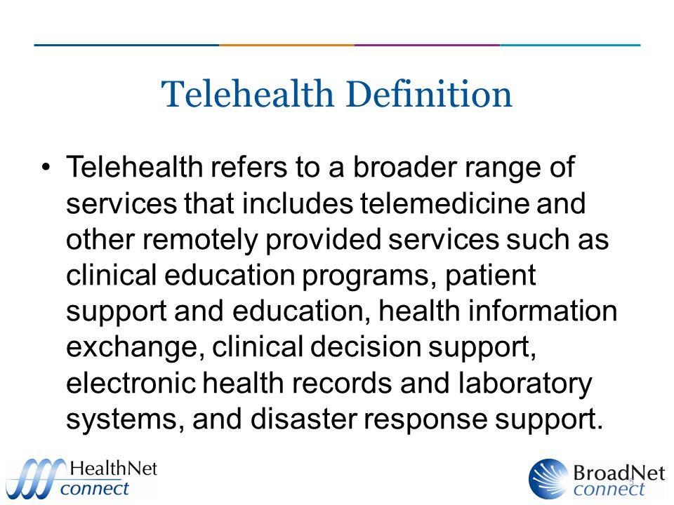 Telehealth Definition