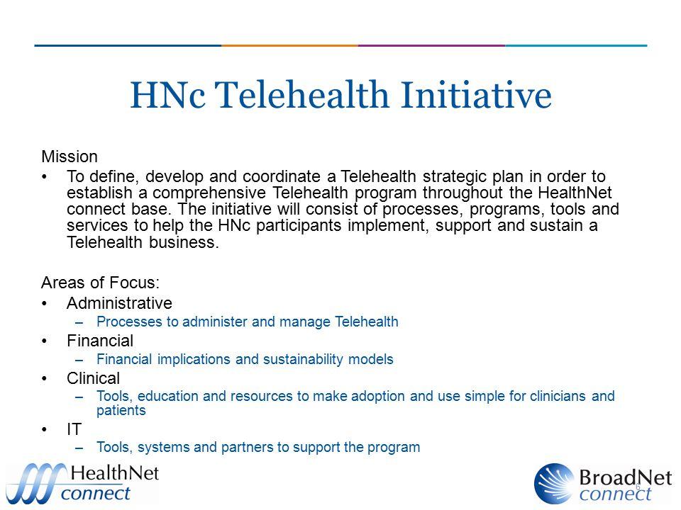 HNc Telehealth Initiative