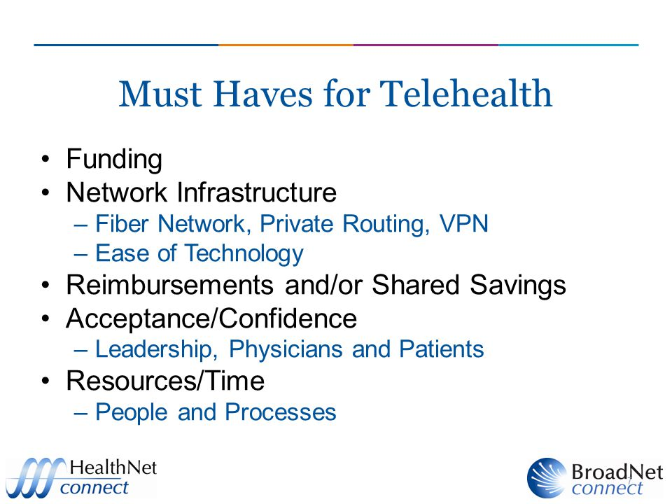 Must Haves for Telehealth