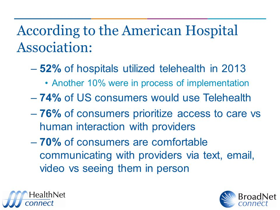 According to the American Hospital Association: