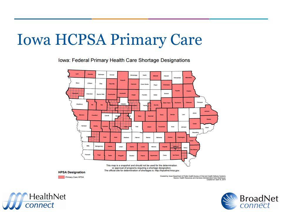 Iowa HCPSA Primary Care