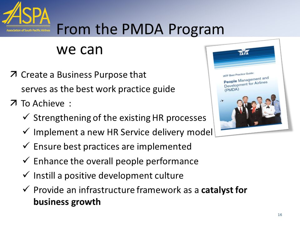 From the PMDA Program we can