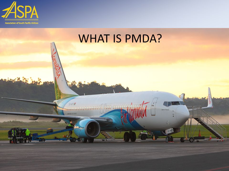 WHAT IS PMDA