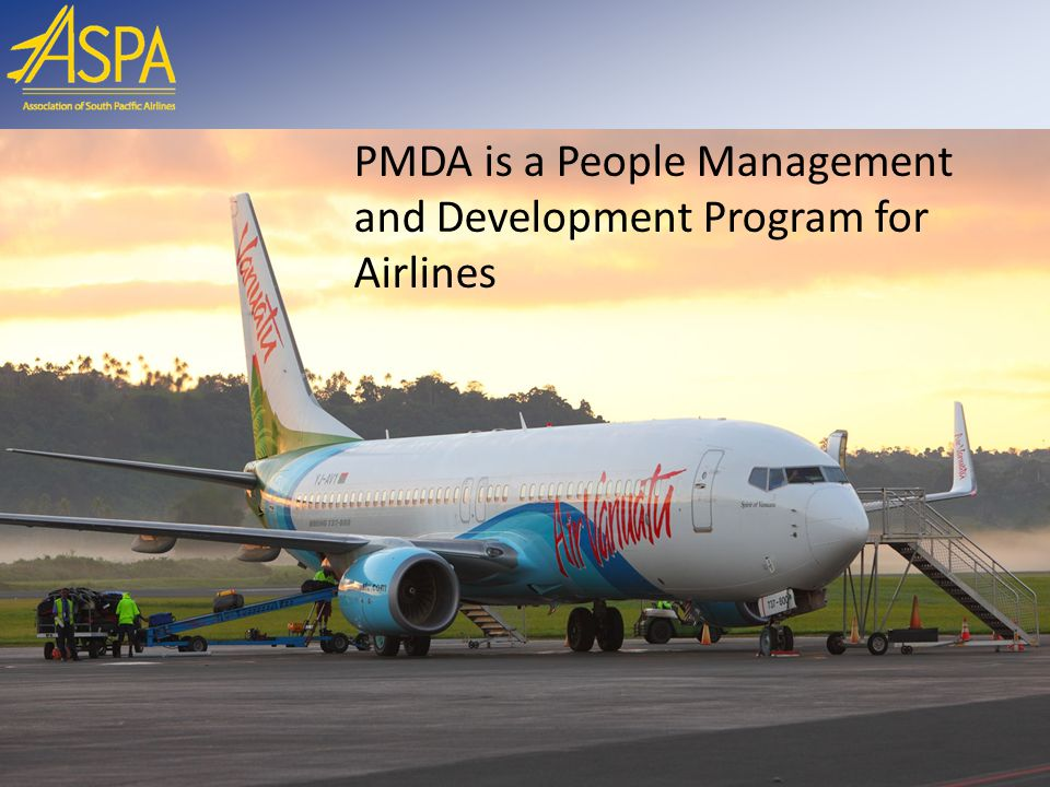 PMDA is a People Management and Development Program for Airlines